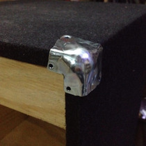 Esquinero Metalico Frente Xpro 4 Puntas P/ Parlante / Bafle