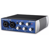 Presonus Audiobox Usb Interfaz De Grabacion 2x2 Midi In Out