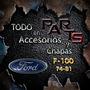 Marco Parrilla Aluminio 74/78 Ford F-100 Y Mas...