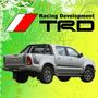 Calco Decoracion Toyota Hilux Trd