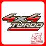 Calcomania Toyota Hilux 4x4 Turbo