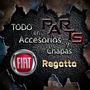 Paragolpes Delantero C/moldura Negra Fiat Regatta Y Mas...
