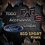 Spoiler Parag. Delan. Babero Ford Eco-sport Kinetic Y Mas...