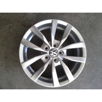 Llanta 15 Original Vw Fox 10 Rayos 5 Rayos Dobles