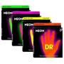 Encordado Dr Neon Para Bajo 4 Cuerdas