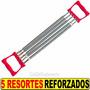 Extensor Aumenta Pectoral Dorsales Brazos 5 Resorte Metalico