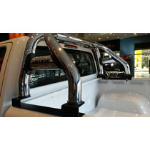 Barra Cromada Hilux, Amarok, Ranger, S10, Mitsubishi Nissan