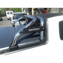 Barra Antivuelco Cromada Volswagen Saveiro 2014 C/extendida