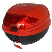 Baul Porta Objetos 30 Litros Rojo Desmontable F2