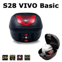 Baulera Moto Portaequipaje Coocase Vivo 28l B Basic Black