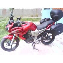 Kit Baules Y Anclajes Kappa Yamaha Fz 16 2013 2014 Fas Motos