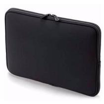 Funda Neoprene Notebook 14 15 Estampada Negra Con Cierre