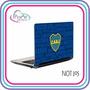 Vinilos Futbol Notebook/skins C/ Doble Vinilo Protector