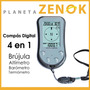 Compas Brujula Digital Sinometer - Altimetro Barometro Temp