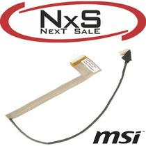 Cable Flex Pantalla - Msi Cr400, Ex460 - Zona Norte