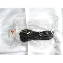 Cable Linea Guitarra / Bajo - 6 Metros - Plug Recto