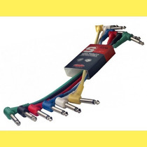Cable Interpedal Stagg X 6 De 30 Cm Plug/plug - Spc030l E