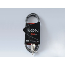 Kwc Iron 222 Cable Plug Mallado Ficha Angular 3 Metros