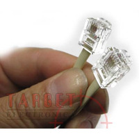 Cable Para Telefono C/ Fichas Rj11 Listo Para Usar 10mts.