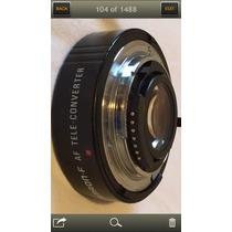 Telextender Tamron Para Nikon Auto Foco Usado Impecable.