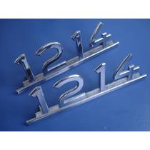 Mercedes Benz 1214 Insignia Emblema Original X 2
