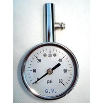 Manómetro Medidor De Presión De Aire De Neumáticos 60 Lbs