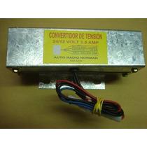 Convertidor De Tension Ent 24v A 12v 3,5 Amp Maximo