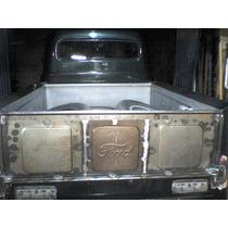 Caja De Carga De Pick Up Ford F1 Y F2 Completa Artesanal