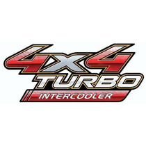 Calcomania 4x4 Turbo Intercooler Original De Toyota Hilux