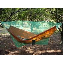 Hamaca Camping Estilo Paraguaya + Mosquitero Campamento