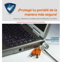 Candado Notebook Cable Acero, Doble Llave Lock Envios S/c