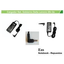 Cargador Net. Gobierno Delta 20v 2a - La Plata