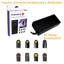 Cargador Y Fuente Para Notebooks/netbooks, Universal 90w