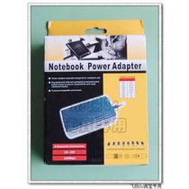 Cargador Universal P/notebook/iphone/mp3 100w 220v 8 Fichas