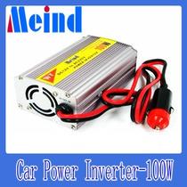 Meind 100w Inversor Cargador - 12v A 220v Auto Notebook Celu