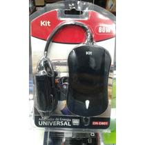 Cargador De Auto 12v Notbook Y Cel Multipin Dn-d801 80 Wts
