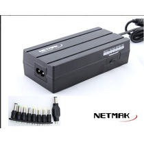 Cargador Netmak Universal 90w Ajustable 9 Salidas Nm-1187