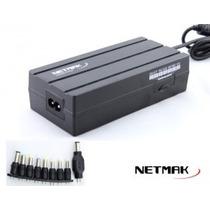 Cargador Notebook Universal Netmak Manual 90w Nm-1187
