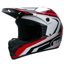 Casco Cross Enduro Bell Sx-1 Storm Red Agente Oficial Bell