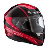 Casco Ls2 Ff384 Iron Tunner Saga Doble Visor Moto Delta