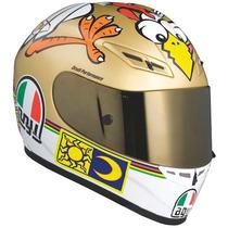 Casco Agv K3 Chicken Moto Gp Valentino Rossi