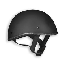 Casco Abierto Vega Harley Davidson Flat Black Naked Helmet
