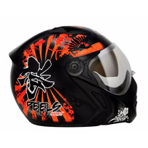 Casco Menton Desmontable Peels Mirage New Spirit Naranja
