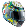 Casco Pista Agv K3 Wake Up Moto Gp Valentino Rossi