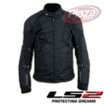 Campera Ls2 Four Seasons Men Térmica Impermeable C/ Protecc