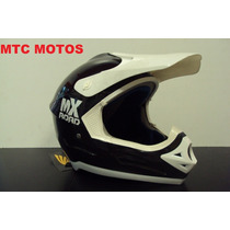 Casco Motocross Atv Cuatri Mtc Motos