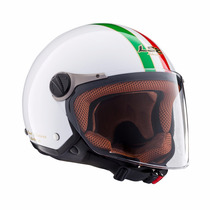 Casco Ls2 Ff560 Abierto Trip White Nuevo!!! Moto Delta Tigre