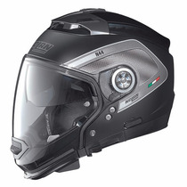 Casco Nolan N44 Tech Crossover Negro Desmontable