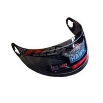 Visor Casco Hawk Rs5 Negro Rebatible Original Freeway Motos!