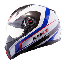 Casco Ls2 Ff396 Ft2 Forza R Jack Nuevo 2015 Alta Gama Motogp